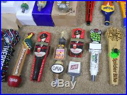 17 Very Nice Figural Collectable Beer Tap Handle Lot