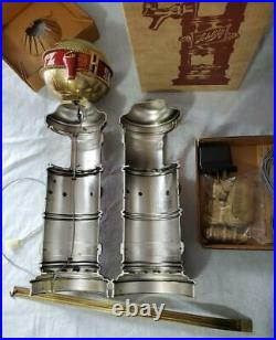 1973 New In Box SCHLITZ Lighted SIGN Globe BEER TOWER COVER Tap Handle MINTY EX