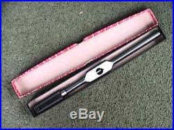 3 Piece Starrett Model No. 91-A B & C Machinist Tap Handle Wrench Set NICE