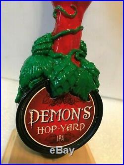 ANHEUSER BUSCH DEMON'S HOP YARD IPA beer tap handle. U. S. A