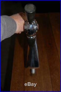 ANTIQUE 1930's ICE CREAM PARLOR SODA FOUNTAIN LIQUID DISPENSER TAP HANDLE CHROME