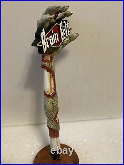 AUGUST SCHELL BRAIN BELT ZOMBIE ARM Draft beer tap handle. NEW ULM, MINNESOTA