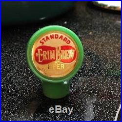 A Vintage Erin Brew Beer Ball Tap Knob / Handle Standard Brewing Cleveland Oh