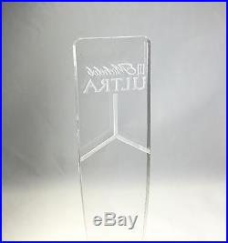 Acrylic Beer Tap Plexiglass Lucite Michelob Ultra Beer Faceut Tap Handle Display