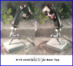 Aircraft stick grip A-10 Wart Hog as beer tap