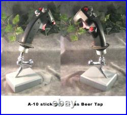 Aircraft stick grip Apache helicopter stick grip as beer tap