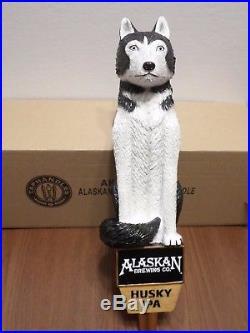 Alaskan IPA Sled Dog NIB 11.5 Draft Beer Keg Tap Handle Very Rare Excellent