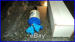Anheuser Bush Wild Blue Beer tap handle in box New never used