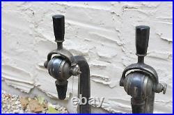 Antique 1900's Mechanicold Beer Bar Tap Art Deco Handle Fountain Jerk Tavern