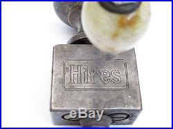 Antique 1909 Hires Root Beer Munimaker Dispenser Tap With Bakelite Handle RARE