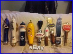 Awesome Beer Tap Handle Lot Of 9