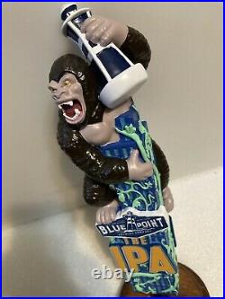 BLUE POINT THE IPA KING KONG draft beer tap handle. NEW YORK