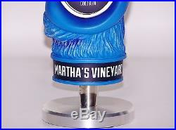 BRAND NEW IN BOX RARE MARTHA'S VINEYARD BAD MARTHA TAP HANDLE WithSTAND & COASTERS