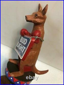 BUD LIGHT KANGAROO beer tap handle. USA