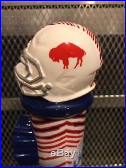 BUFFALO BILLS LABATT BLUE ZUBAZ RARE Figural Football Helmet Beer Tap Handle