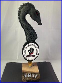 Bayern Flathead Lake Monster Lager Beer Tap Handle Ultra Rare Figural Beer Tap