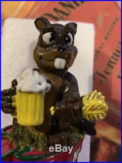 Beaver Creek Beer Tap Handle Rare Wibaux Montana Mint Microbrew Brewery Nib