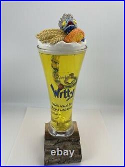 Beer Tap Beer Chameleon Witty Wheat Ale Beer Tap Handle Figural Tap Handle