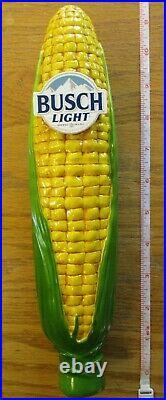Beer Tap Busch Light Corn Handle Brand New in Original Box