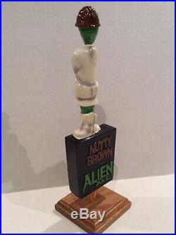 Beer Tap Handle Alien Sierra Blanca