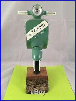 Beer Tap Handle Avviato Pinot Grigio Tap Handle Rare Figural Vespa Tap Handle