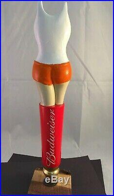 Beer Tap Handle Budweiser Hooters Beer Tap Handle Rare Figural Girl Tap Handle