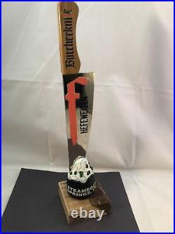 Beer Tap Handle Butcher Knife Heffwei Beer Tap Handle Figural Beer Tap Handle AA