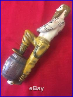 Beer Tap Handle Charlie Wells Dry Hopped Lager Beer Tap Handle Figural Beer Tap