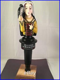 Beer Tap Handle Duchesse De Bourgogne Tap Handle Rare Figural Girl Beer Tap