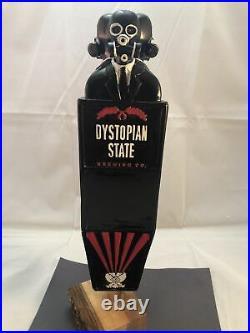 Beer Tap Handle Dystopian State Beer Tap Handle Rare Figural Beer Tap Handle