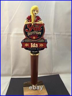 Beer Tap Handle Fat Bottom Ida Golden Ale Beer Tap Handle Figural Girl Beer Tap