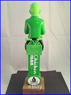Beer Tap Handle Furnace Room Chicken Man Beer Tap Handle Rare Figural Tap Handke