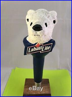 Beer Tap Handle Labatt Two Headed Bear Beer Tap Handle Rare Figural Tap Handle
