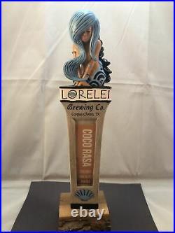 Beer Tap Handle Lorelei Beer Tap Handle Rare Figural Mermaid Beer Tap Handle