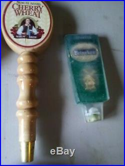 Beer Tap Handle Lot of 35 mixed Domestic, Craft and Vintage