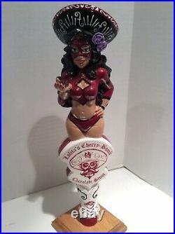Beer Tap Handle Lucha Girl Lolita
