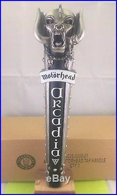 Beer Tap Handle Motorhead Road Crew American Pale Ale Rare Figural Tap Handle LE