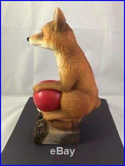 Beer Tap Handle Orchard Thieves Cider Tap Handle Rare Figural Fox Beer Tap