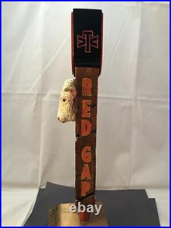 Beer Tap Handle Red Gap Lager Beer Tap Handle Rare Figural Cow Beer Tap Handle