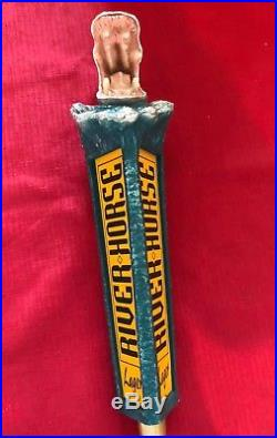 Beer Tap Handle River Horse Lager Beer Tap Handle Figural Hippo Beer Tap Handle