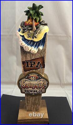 Beer Tap Handle Sandude IPA Beer Tap Handle Rare Figural Beer Tap Handle