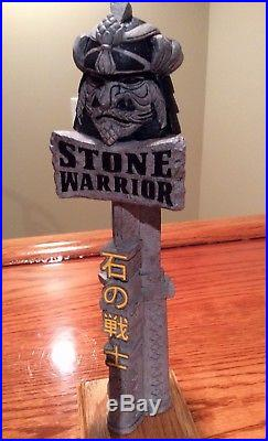 Beer Tap Handle Sapporo Stone Warrior
