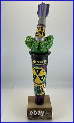 Beer Tap Handle Sprecher Citra Bomb IPA Beer Tap Handle Figural Beer Tap Handle