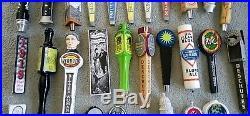 Beer Tap Handles Metal, Wooden and Ceramic Lot of 40