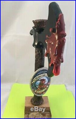 Beer Tap Hobgoblin English Ale Beer Tap Handle Rare Figural Axe Beer Tap Handle