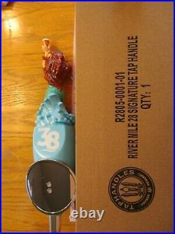 Beer Tap River Mile 38 Mermaid Handle Brand New in Original Box