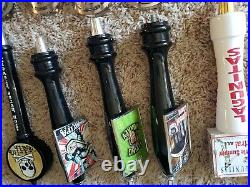 Beer tap handle lot of 45