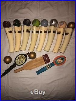 Bells Tap Handle Collection (set Of 11 Plus Two Balls)