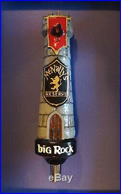 Big Rock Brewery Beer McNally's Reserve Tap Handle NEW Super Rare HTF Castle