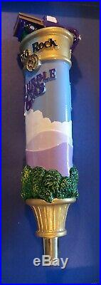 Big Rock Brewery Beer Purple Gas Tap Handle NEW Super Rare HTF Awesome Art